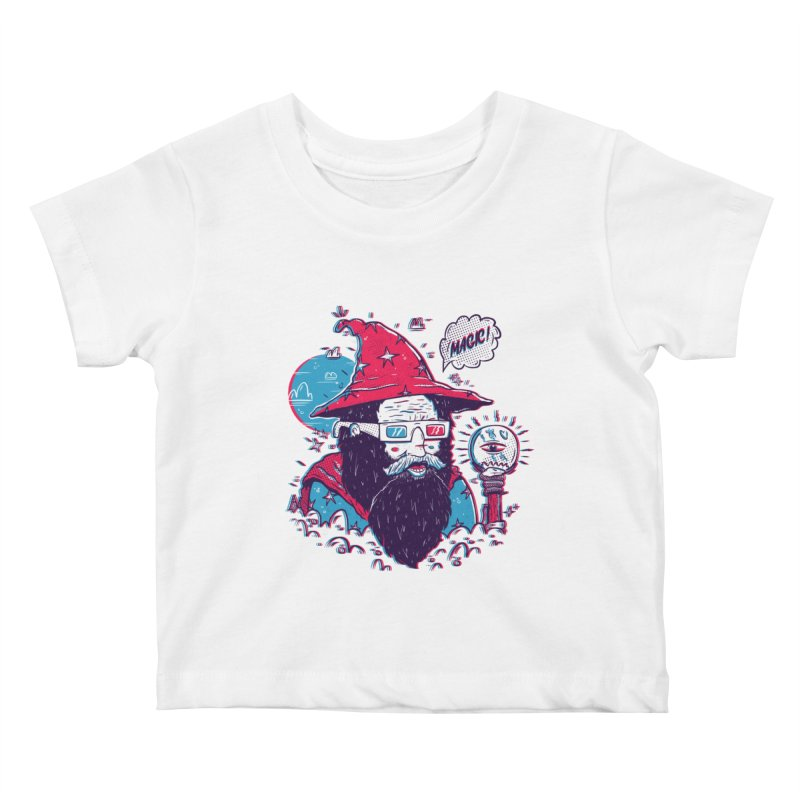 Oooh Magic! Kids Baby T-Shirt by effect14's Artist Shop