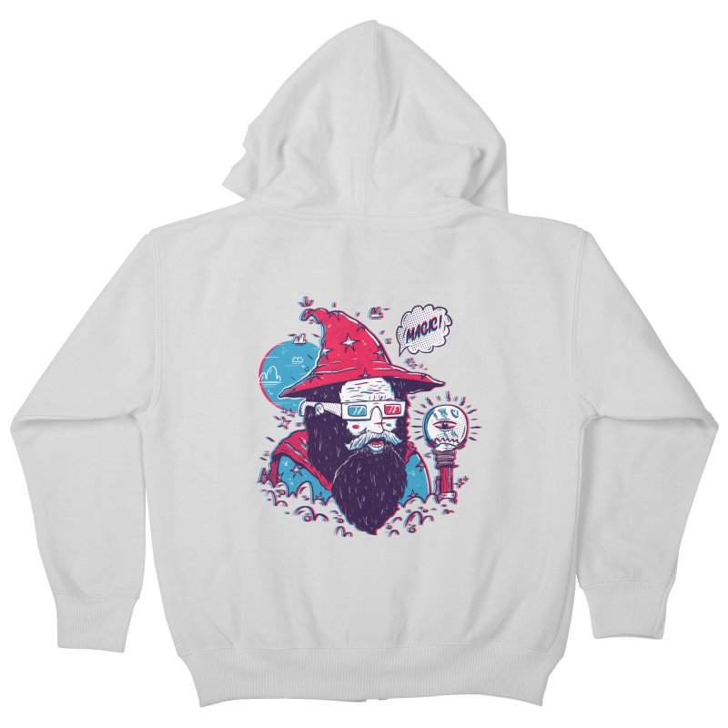 Oooh Magic! Kids Zip-Up Hoody by effect14's Artist Shop