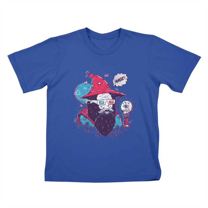 Oooh Magic! Kids T-Shirt by effect14's Artist Shop