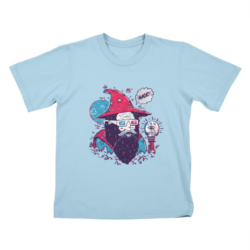 Oooh Magic! Kids T-Shirt by effect14's Artist Shop