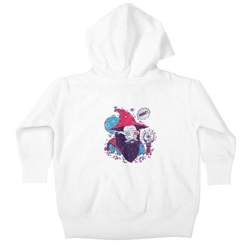 Oooh Magic! Kids Baby Zip-Up Hoody by effect14's Artist Shop