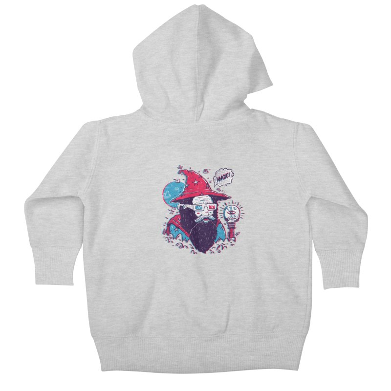 Oooh Magic! Kids Baby Zip-Up Hoody by effect14's Artist Shop