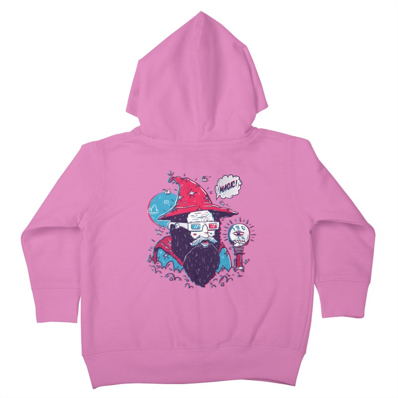Oooh Magic! Kids Toddler Zip-Up Hoody by effect14's Artist Shop