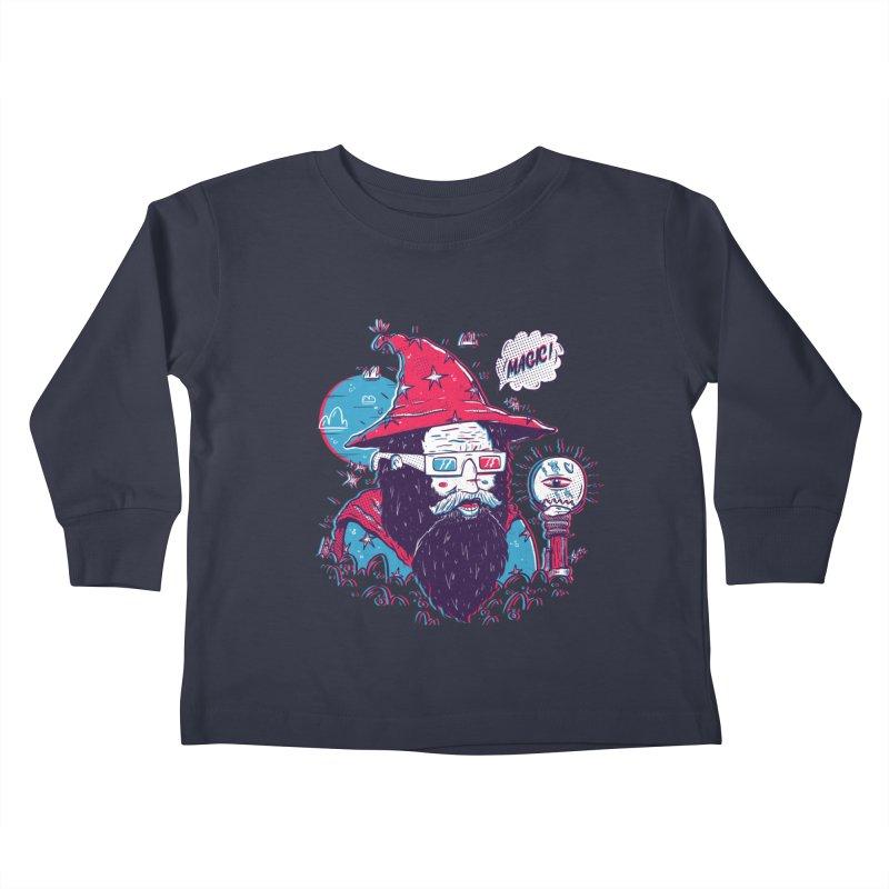 Oooh Magic! Kids Toddler Longsleeve T-Shirt by effect14's Artist Shop