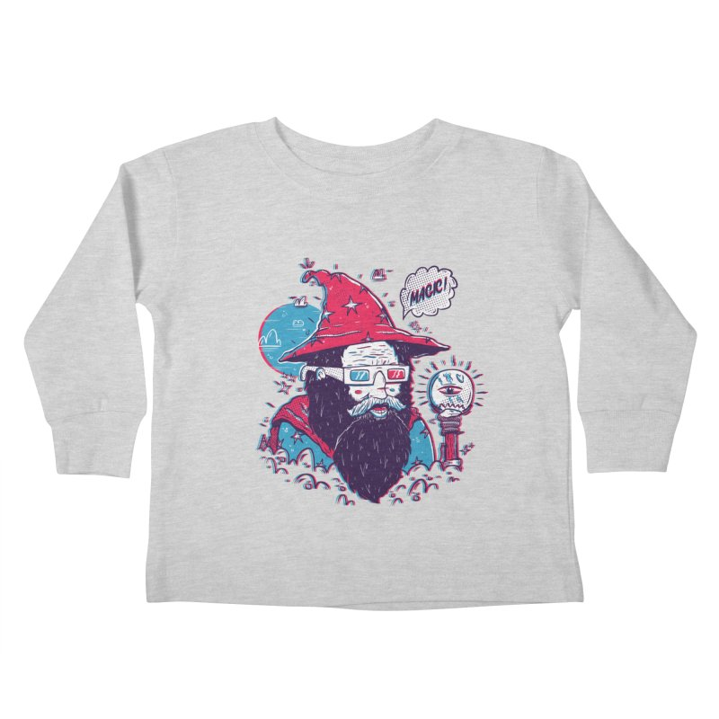 Oooh Magic! Kids Toddler Longsleeve T-Shirt by effect14's Artist Shop