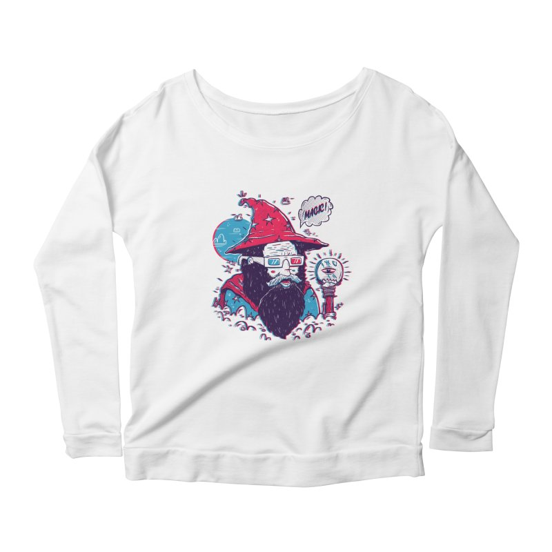 Oooh Magic! Women's Scoop Neck Longsleeve T-Shirt by effect14's Artist Shop
