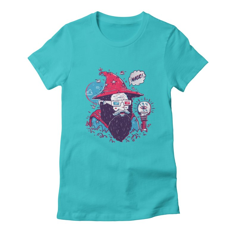 Oooh Magic! Women's Fitted T-Shirt by effect14's Artist Shop