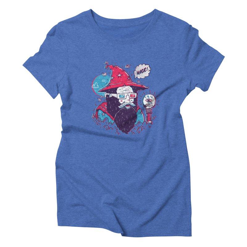 Oooh Magic! Women's Triblend T-Shirt by effect14's Artist Shop