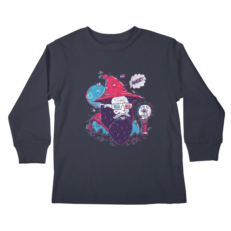 Oooh Magic! Kids Longsleeve T-Shirt by effect14's Artist Shop