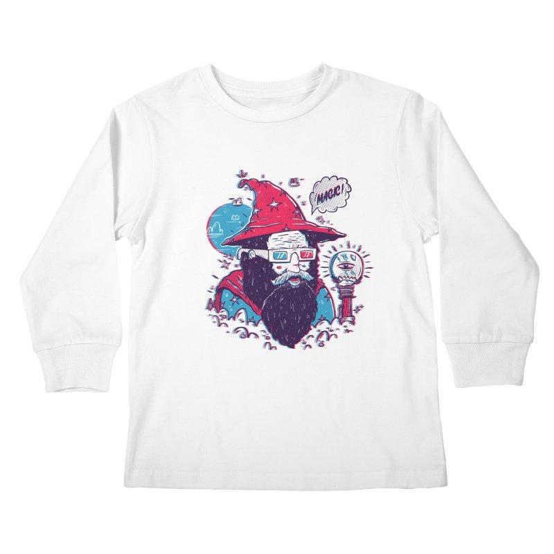 Oooh Magic! Kids Longsleeve T-Shirt by effect14's Artist Shop