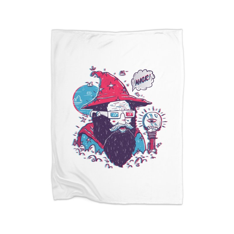 Oooh Magic! Home Fleece Blanket Blanket by effect14's Artist Shop