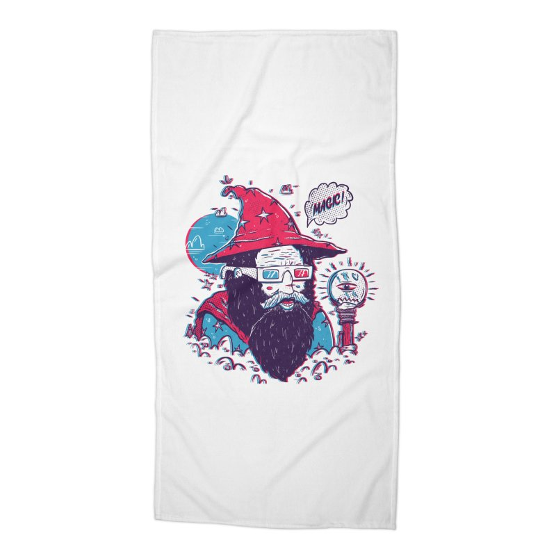 Oooh Magic! Accessories Beach Towel by effect14's Artist Shop