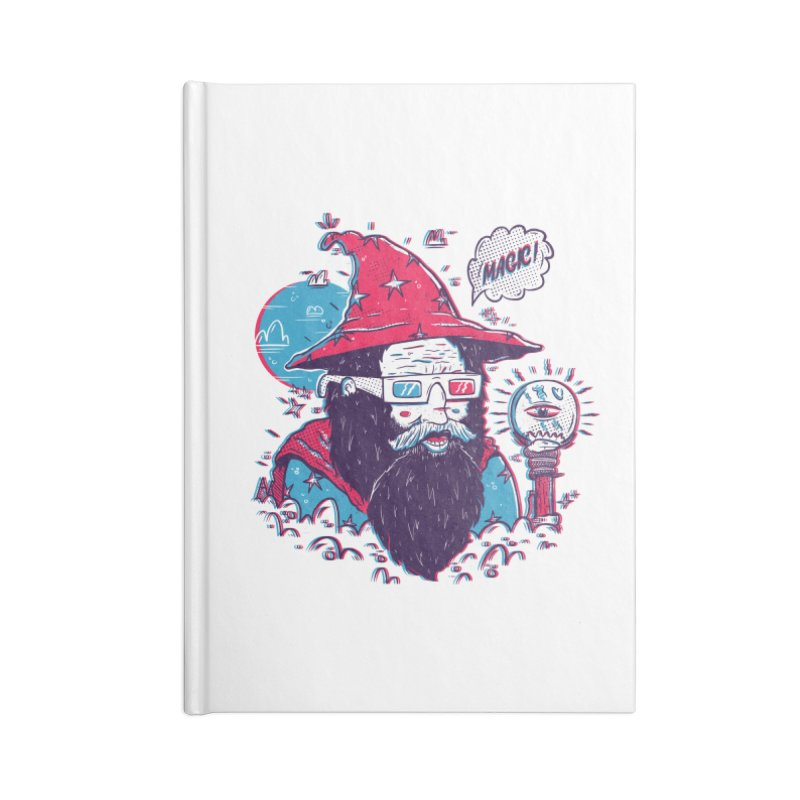 Oooh Magic! Accessories Lined Journal Notebook by effect14's Artist Shop