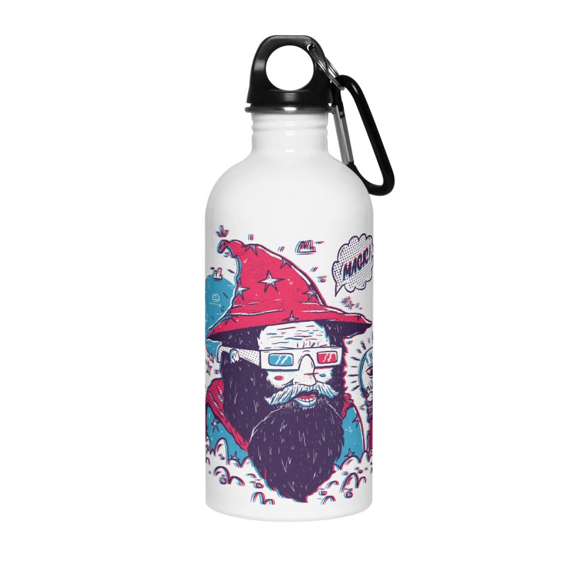 Oooh Magic! Accessories Water Bottle by effect14's Artist Shop
