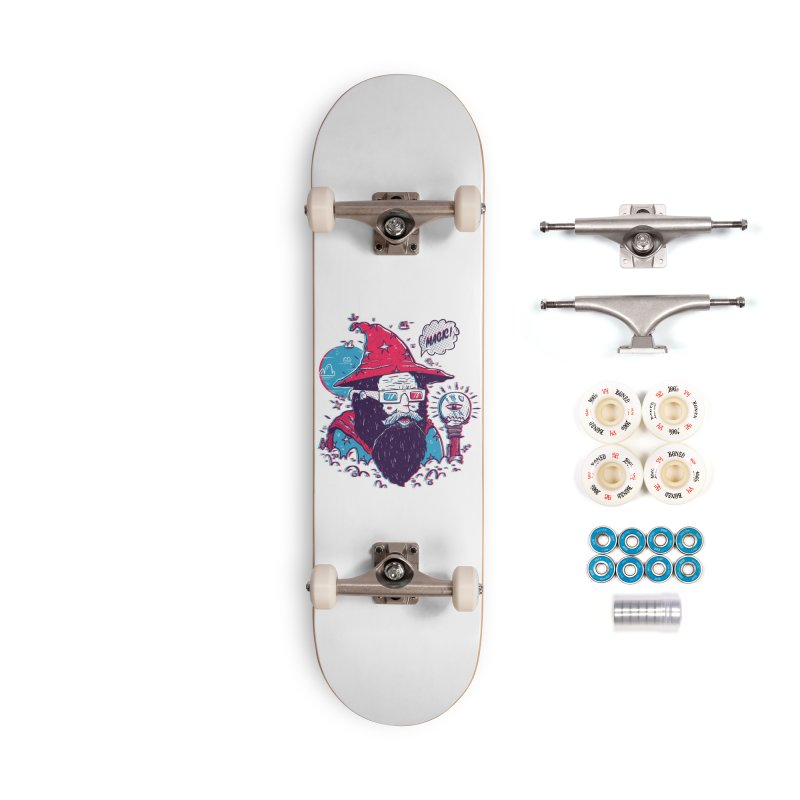 Oooh Magic! Accessories Complete - Premium Skateboard by effect14's Artist Shop