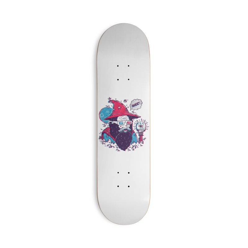 Oooh Magic! Accessories Deck Only Skateboard by effect14's Artist Shop
