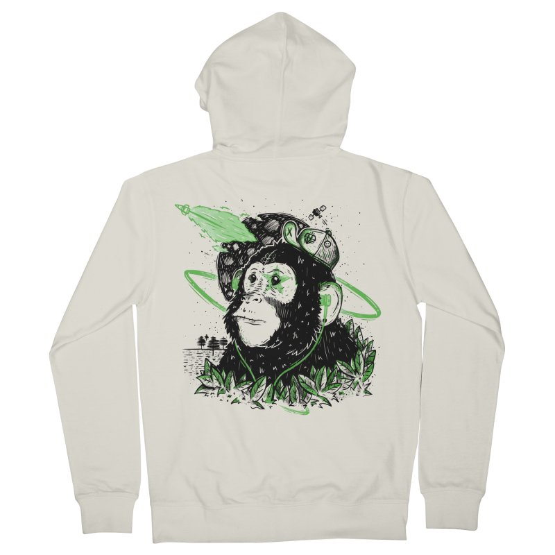A Dream Away! Men's French Terry Zip-Up Hoody by effect14's Artist Shop