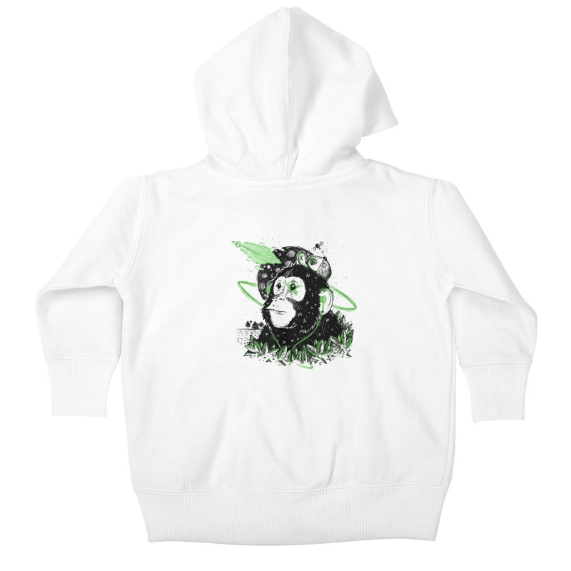 A Dream Away! Kids Baby Zip-Up Hoody by effect14's Artist Shop
