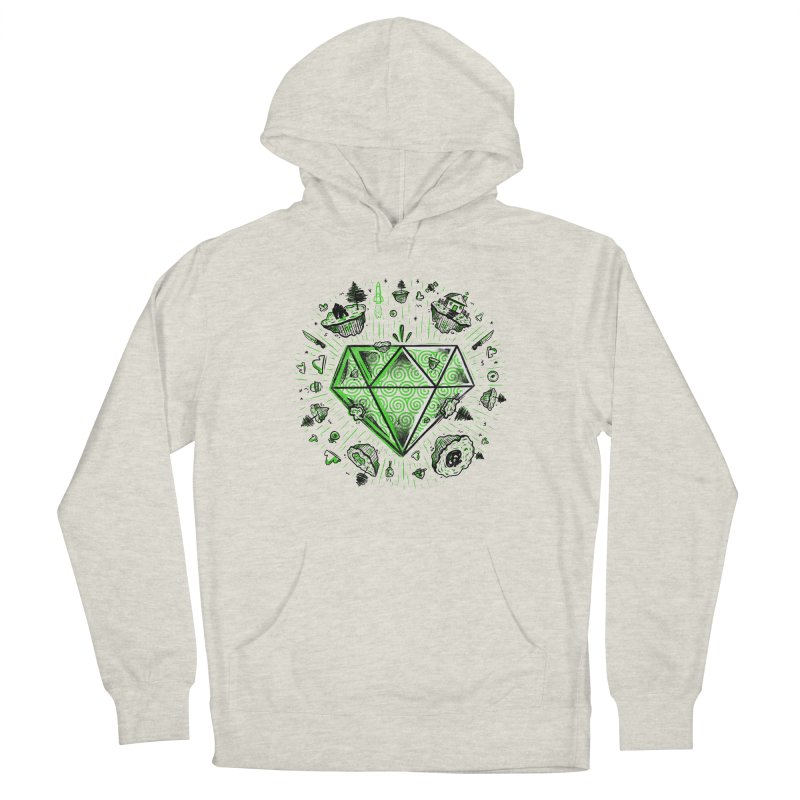 We Are Diamonds! Women's French Terry Pullover Hoody by effect14's Artist Shop