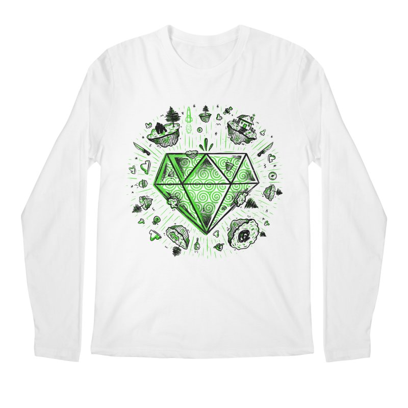 We Are Diamonds! Men's Longsleeve T-Shirt by effect14's Artist Shop