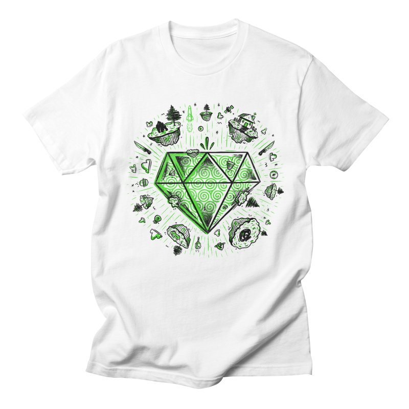 We Are Diamonds! in Men's T-Shirt White by effect14's Artist Shop