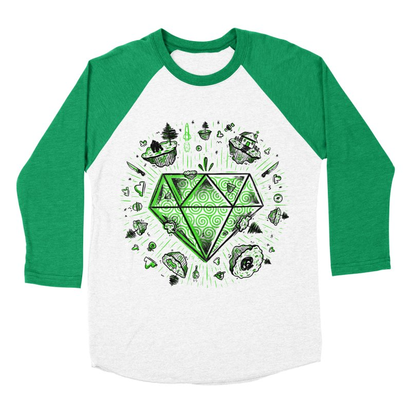 We Are Diamonds! Men's Baseball Triblend Longsleeve T-Shirt by effect14's Artist Shop