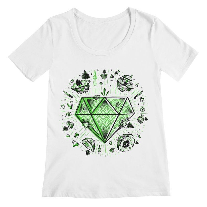 We Are Diamonds! Women's Regular Scoop Neck by effect14's Artist Shop