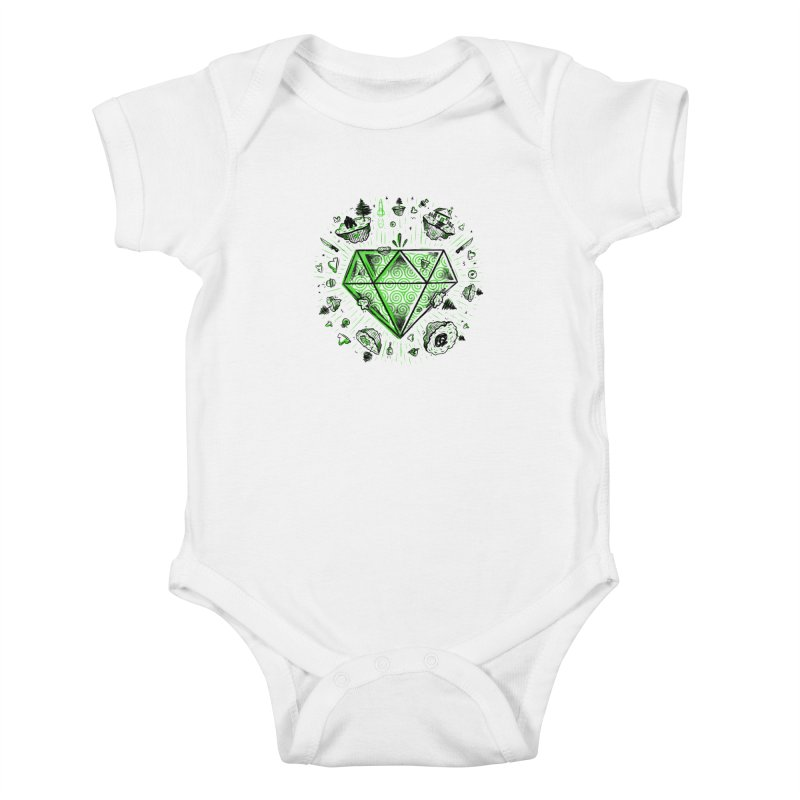 We Are Diamonds! Kids Baby Bodysuit by effect14's Artist Shop