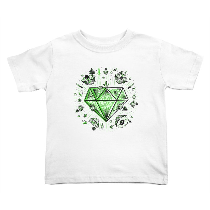 We Are Diamonds! Kids Toddler T-Shirt by effect14's Artist Shop