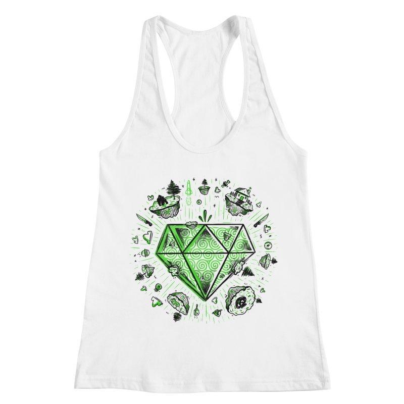 We Are Diamonds! Women's Racerback Tank by effect14's Artist Shop