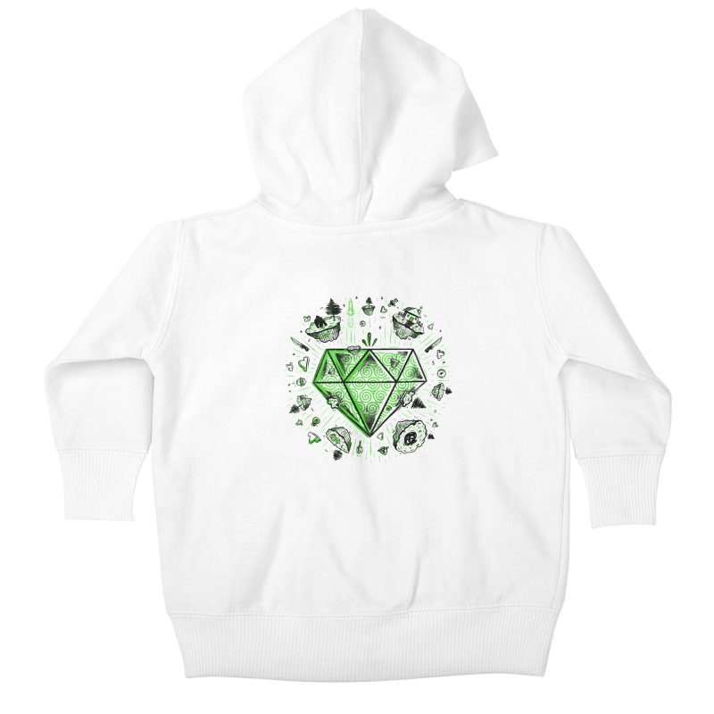 We Are Diamonds! Kids Baby Zip-Up Hoody by effect14's Artist Shop