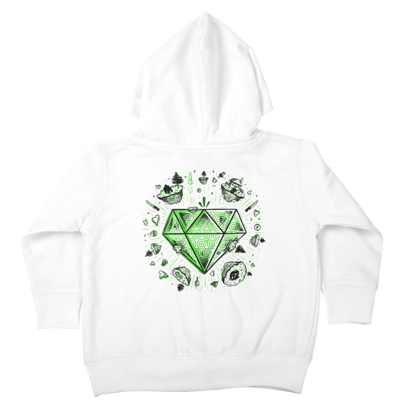 We Are Diamonds! Kids Toddler Zip-Up Hoody by effect14's Artist Shop