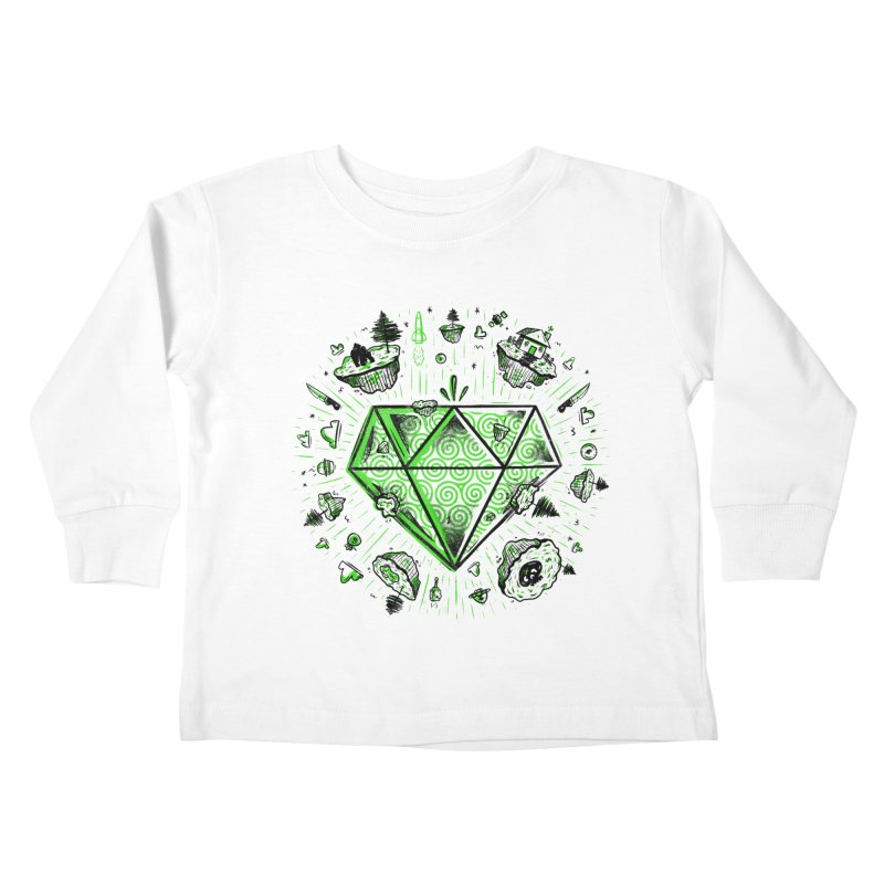 We Are Diamonds! Kids Toddler Longsleeve T-Shirt by effect14's Artist Shop