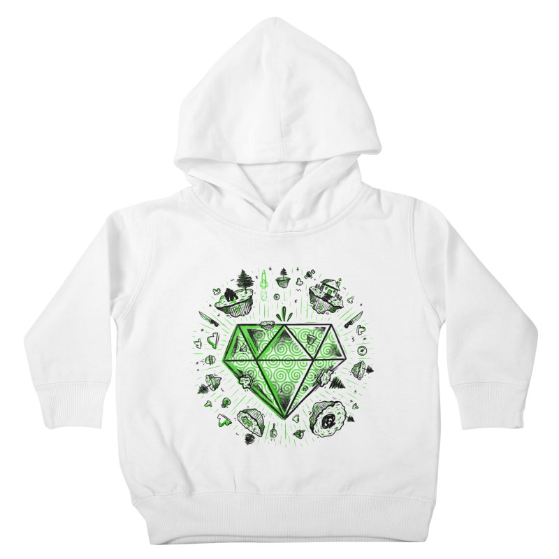 We Are Diamonds! Kids Toddler Pullover Hoody by effect14's Artist Shop