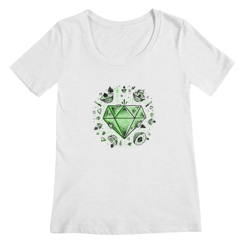 We Are Diamonds! Women's Regular Scoop Neck by effect14's Artist Shop