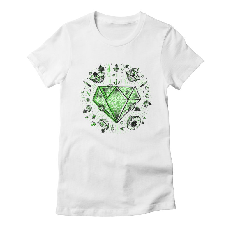 We Are Diamonds! Women's Fitted T-Shirt by effect14's Artist Shop