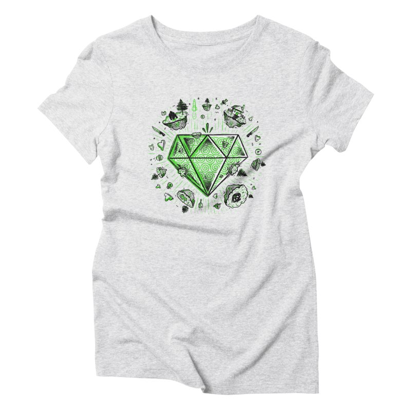 We Are Diamonds! Women's Triblend T-Shirt by effect14's Artist Shop