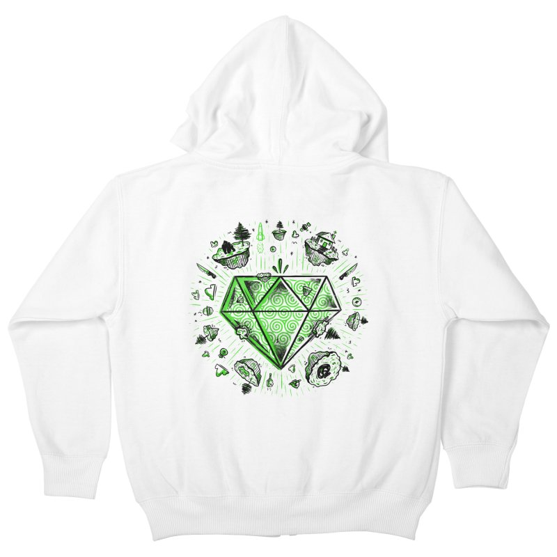 We Are Diamonds! Kids Zip-Up Hoody by effect14's Artist Shop