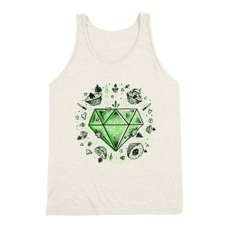We Are Diamonds! Men's Triblend Tank by effect14's Artist Shop