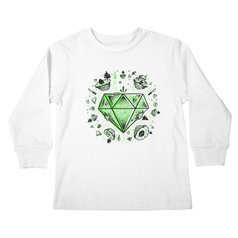 We Are Diamonds! Kids Longsleeve T-Shirt by effect14's Artist Shop