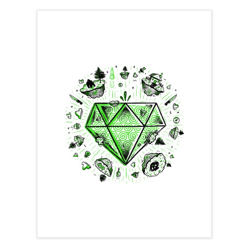 We Are Diamonds! Home Fine Art Print by effect14's Artist Shop