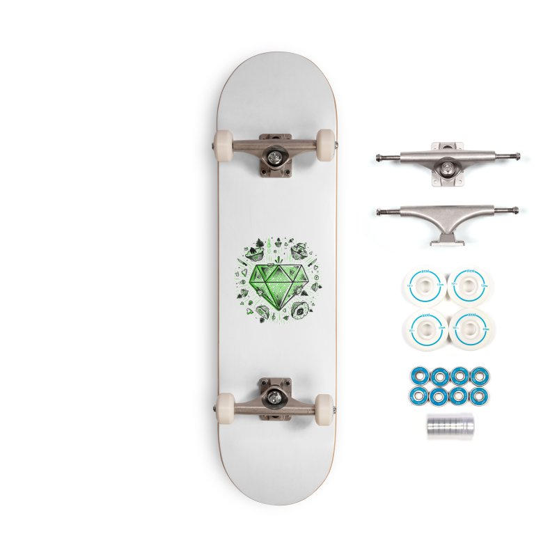 We Are Diamonds! Accessories Complete - Basic Skateboard by effect14's Artist Shop