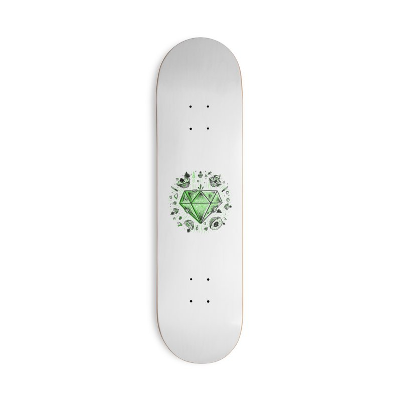 We Are Diamonds! Accessories Deck Only Skateboard by effect14's Artist Shop