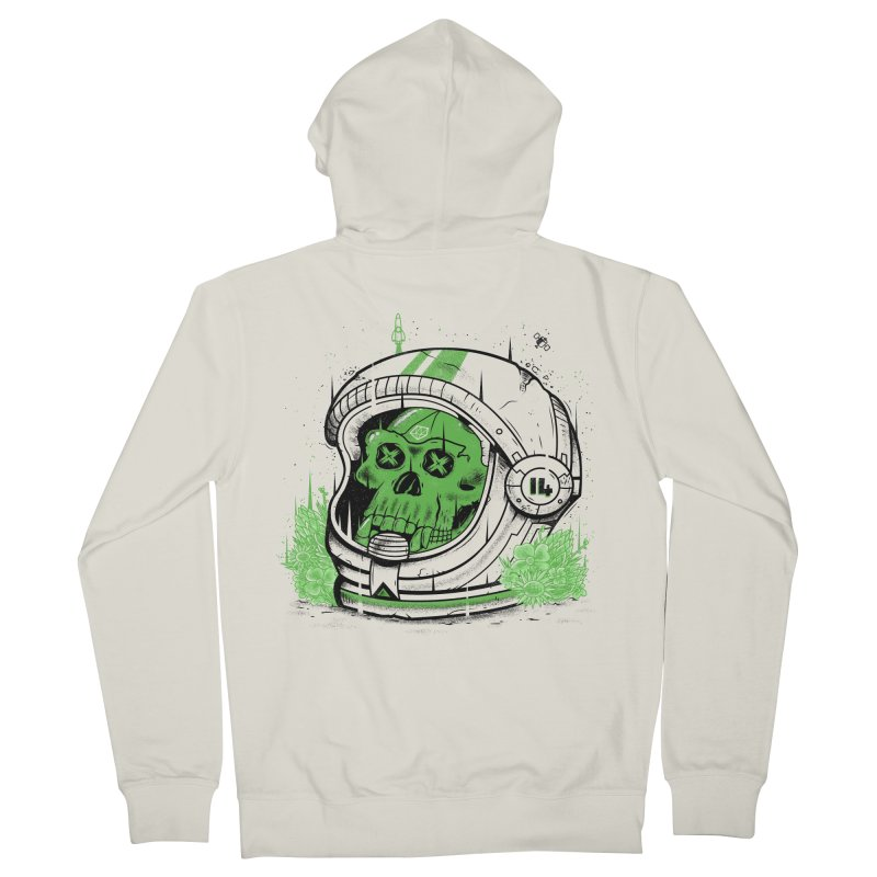 Alive Again! Men's French Terry Zip-Up Hoody by effect14's Artist Shop