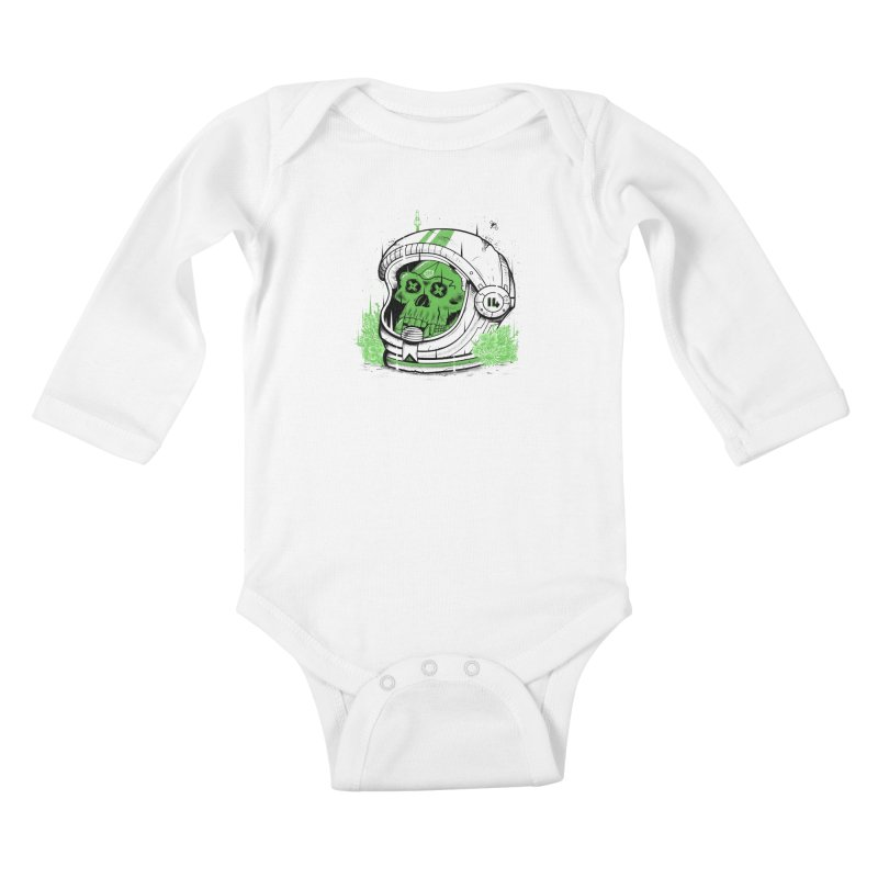 Alive Again! Kids Baby Longsleeve Bodysuit by effect14's Artist Shop