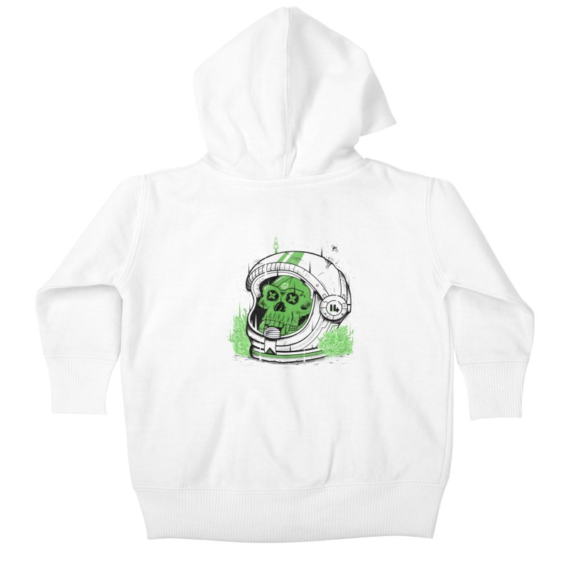 Alive Again! Kids Baby Zip-Up Hoody by effect14's Artist Shop