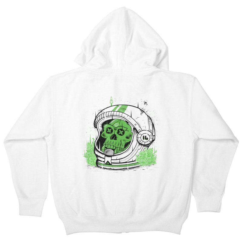 Alive Again! Kids Zip-Up Hoody by effect14's Artist Shop