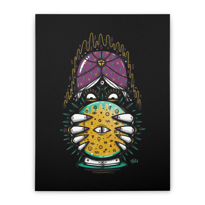 Fortune Teller! Home Stretched Canvas by effect14's Artist Shop