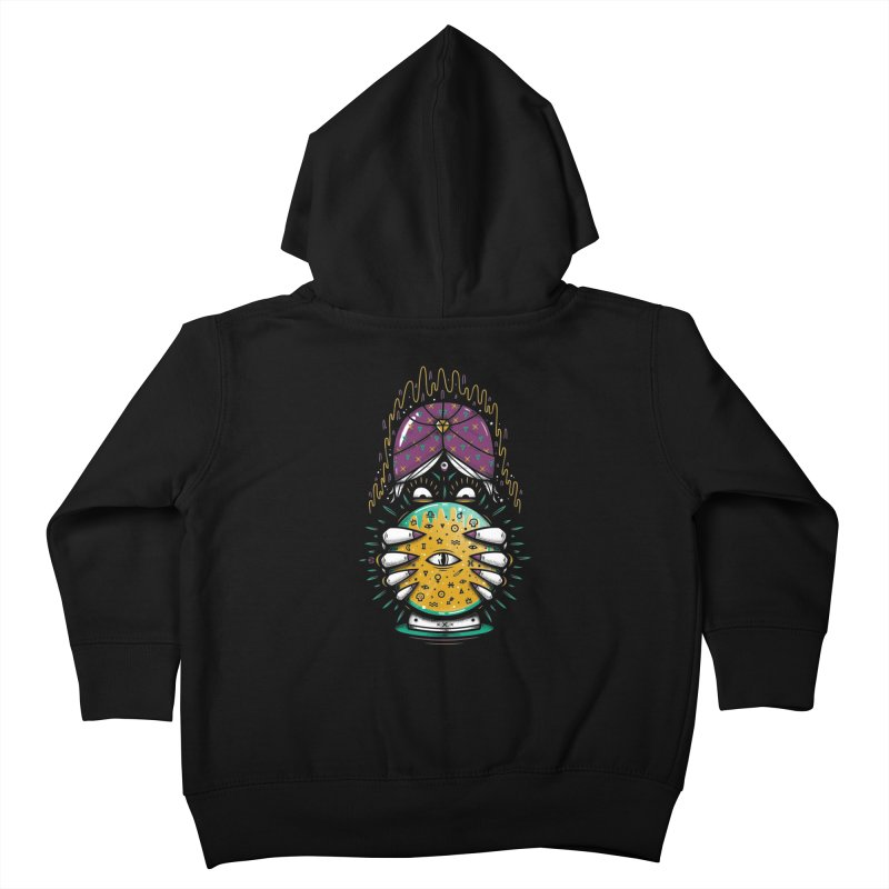 Fortune Teller! Kids Toddler Zip-Up Hoody by effect14's Artist Shop