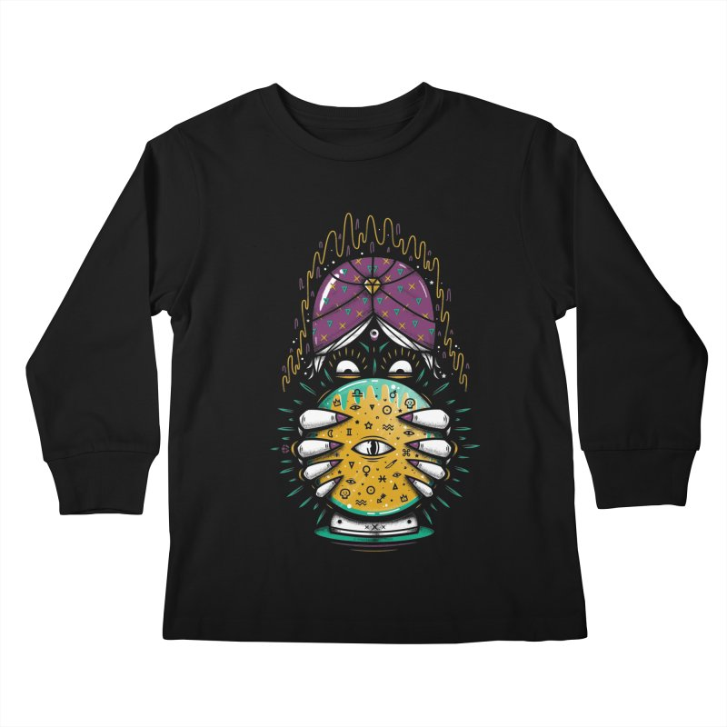 Fortune Teller! Kids Longsleeve T-Shirt by effect14's Artist Shop